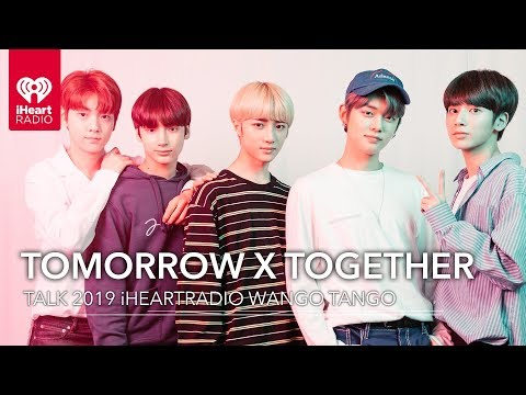 TOMORROW X TOGETHER Tells Us Who They're Most Excited To See Perform At 2019 Wango Tango
