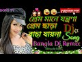 Prem Mane jontrona Prem chara bacha Jay na Bangla  DJ mix song DON5 TV
