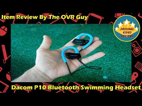 Item review - Dacom P10 Bluetooth Swimming Headset