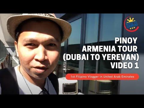 ARMENIA TOUR video 1 (from Dubai to Yerevan Armenia)