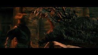 Сразись со мной как человек а не как дракон, или у тебя нет чести ?:Седьмой Сын