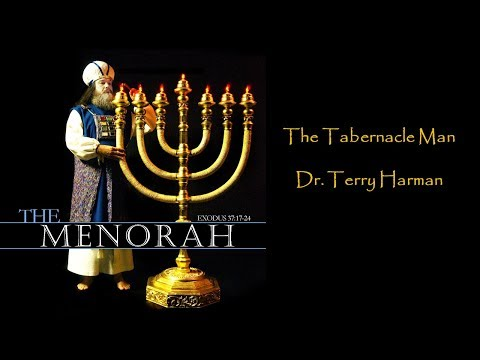 The 7 Branch Menorah Of The Tabernacle