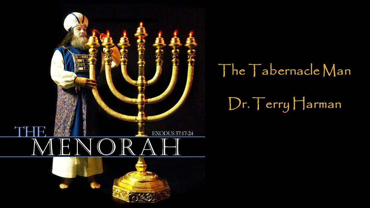 The 7 Branch Menorah of the Tabernacle #1
