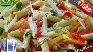 Ricetta Italiana : Pasta Fredda Con Verdure