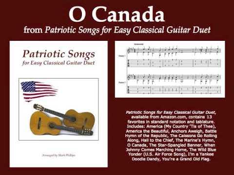 O Canada (classical guitar duet)