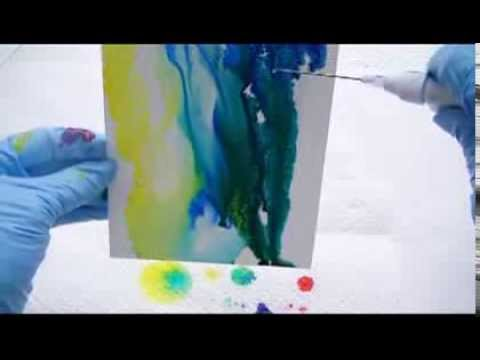 Creative Explorations Painting with Alcohol Ink Pouring Ink