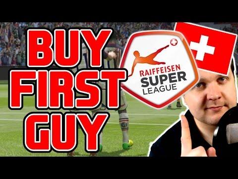 FIFA 15 | BUY FIRST GUY #15 | Raiffeisen Super League (Schweiz) | RSL