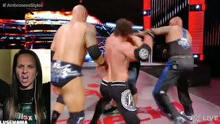 wwe raw 6 27 16 after main event brawl