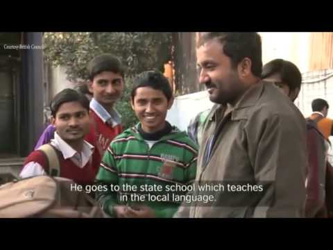 Super 30 Coach Anand Kumar and British Lingua MD Dr Birbal Jha on English....