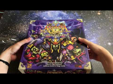 Arcadia Quest: Beyond The Grave Unboxing