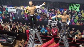 WWE Action Figure Set Up - Extreme