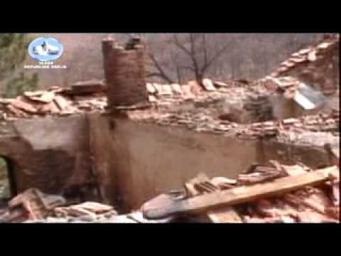 Kosovo. Pogrom. March 2004. Part 1/2