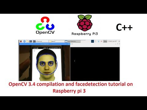 openCV 3.4(C++) source code compilation and Hello world program on Raspberry Pi 3