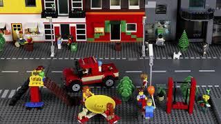 Лего мультик о похищении. Как заработать деньги LEGO City kidnap the boy. How to make money