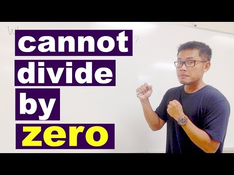 why cant we divide by zero? an easy way to convince students no limits involved
