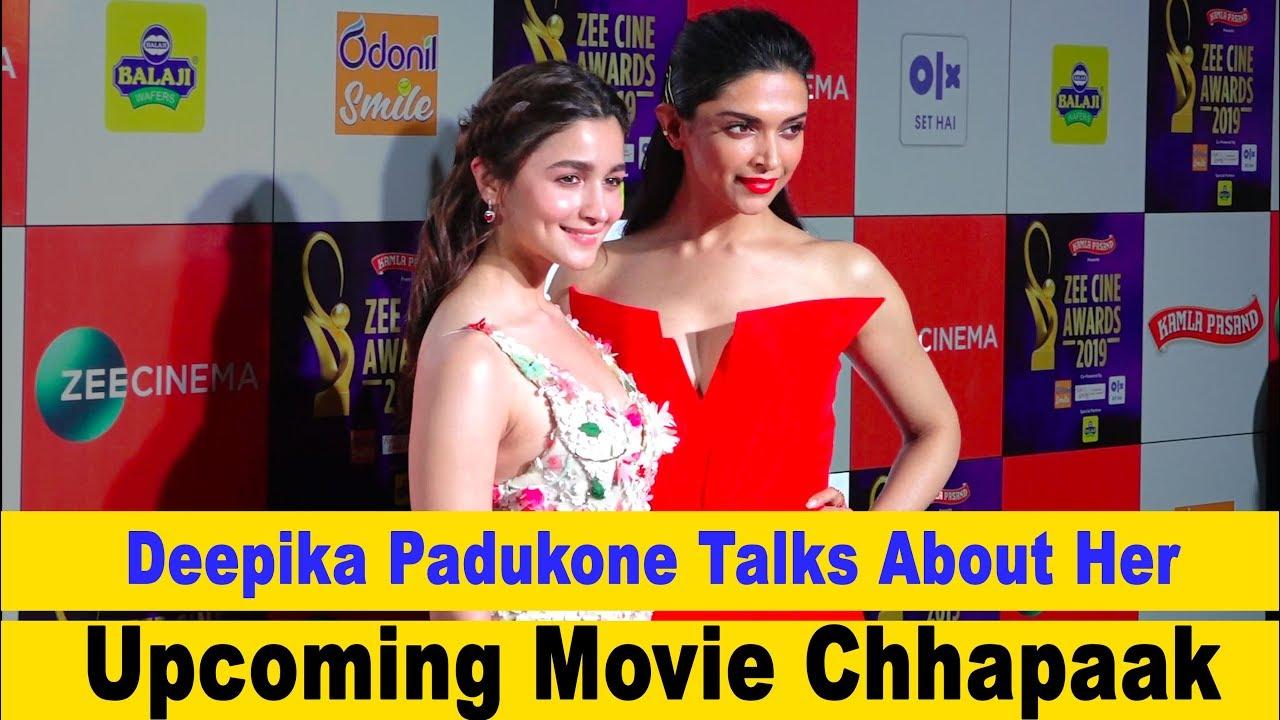 Deepika Padukone Talks About Her Upcoming Movie Chhapaak ...
