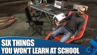 6 Things Games Taught Us You Won't Learn In School