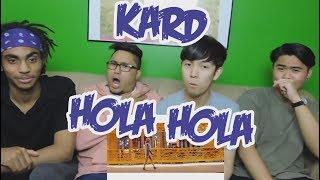 KARD - HOLA HOLA MV REACTION (FUNNY FANBOYS)