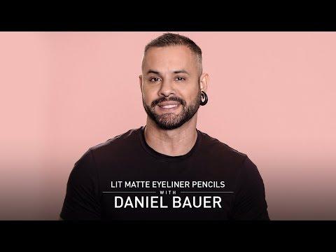 LIT Matte Eyeliner Pencil | Daniel Bauer | MyGlamm