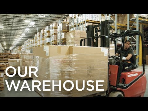 The Lamps Plus Lighting Warehouse and Fulfillment Center Story