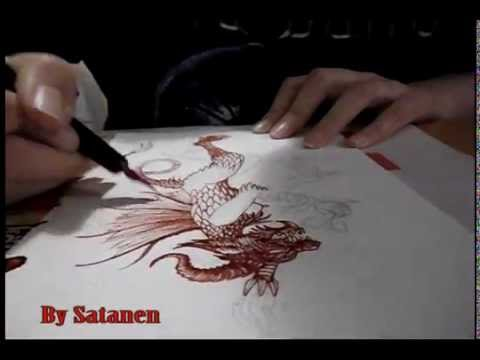 Satanen Perkele: Painting with Real Blood