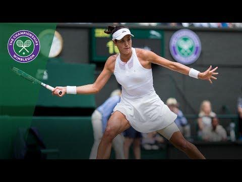 Wimbledon 2017 - Best shots of day 10