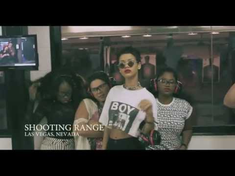 Rihanna Unapologetic Behind The Scenes: Package Shoot