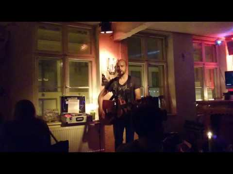 Paul Liddell - Little Rivers & Hurricanes live at Kulturbar, Greifswald, Germany, 10.04.2017