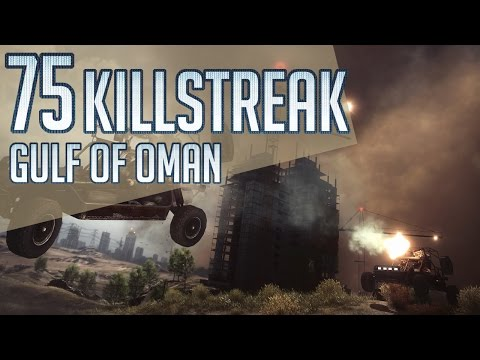 Pro Attack Helicopter Teamplay | 75 KILLSTREAK | Gulf Of Oma
