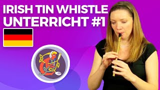 Tin Whistle Lessons | German Subtitles (Deutsche Untertitel) - from OAIM.IE