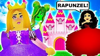 RAPUNZEL ESCAPES MOTHER GOTHEL'S TOWER! 👑 Royale High School 👑 Roblox Roleplay