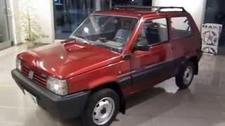 FIAT PANDA 4x4 SERIE SPECIALE COUNTRY CLUB PARI AL NUOVO www.autocazzaniga.com