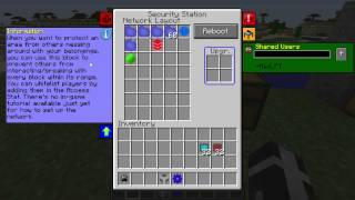 Pneumaticcraft 1.2.5 Security Station