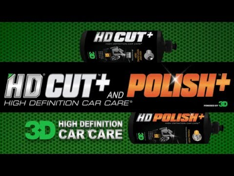 HD CUT+ & HD POLISH+ FOR SCRATCHES OR PAINT TRANSFER