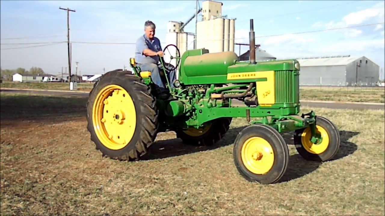 John Deere 520 Tractor Clutch : John deere lp youtube
