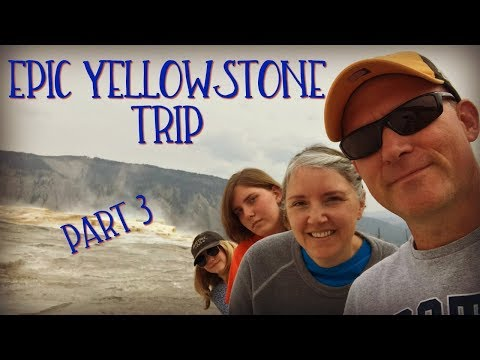 Yellowstone, Part 3  |   World's largest geyser - sounds like a jet engine!