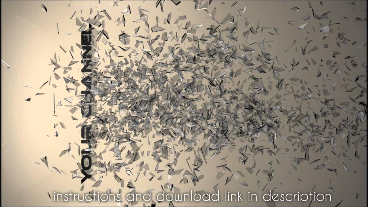 shattered glass background template  new design  c4d  free
