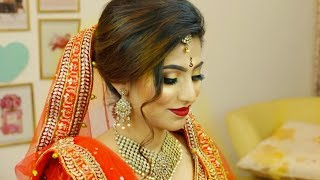 Indian Gold Eyes Makeup | Step By Step Bridal Makeup For Beginners (Hindi) | Shruti Arjun Anand
