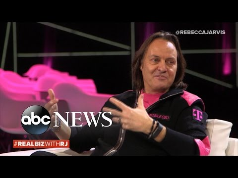 T-Mobile CEO Talks Future of Wireless and Content