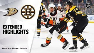 Anaheim Ducks vs Boston Bruins | Oct.14, 2019 | Game Highlights | NHL 2019/20 | Обзор матча