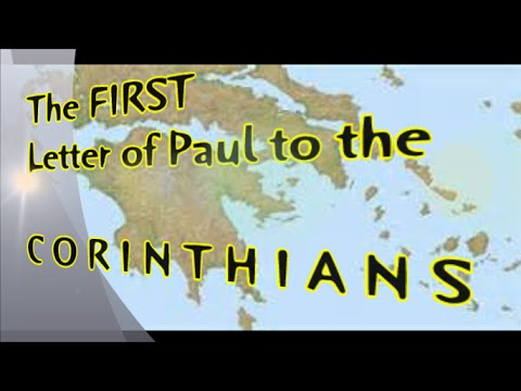 First Letter of Paul to the Corinthians