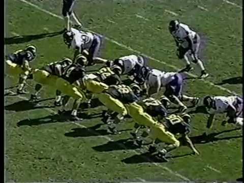 1997 Michigan vs. Northwestern