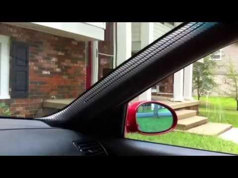 BMW E46 A C Pillar repair 3M DiNoc Wrap.