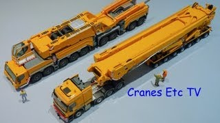 Liebherr LTM 11200-9.1 Part 6 - WSI Boom Carrier by Cranes Etc TV
