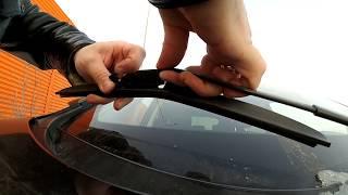 Almashtirish wipers Hyundai ix35  HYUNDAI IX35. Janitors o'lchamlari: 610 mm. va 410 mm.