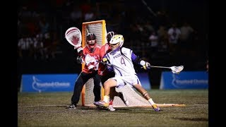 Iroquois Nationals vs  Team Canada Highlights 2018 FIL World Lacrosse Championships