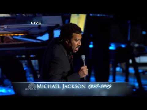 Lionel Richie sing