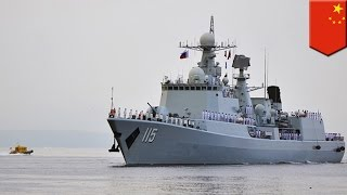 Chinese naval vessels spotted in the Bering Sea as Obama visits Alaska - TomoNews
