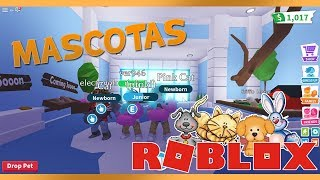 THE PETS ARRIVE!! *UPDATE* ADOPT ME ROBLOX ? 17_SANTI