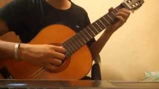 Aye dil dil ki duniya mein Fingerstyle guitar + tabs